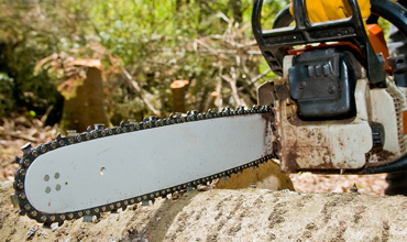 Chainsaw Chain Sharpening